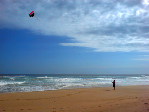 Summer Surfing and Kitesurfing School at Myoli Beach in Sedgefield